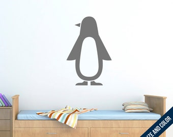 Penguin Wall Decal - Animal - Vinyl Sticker