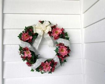Spring Poppy Wreath