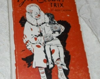 Joe Clown's Trix by Maud C. Jackson  Vintage Book