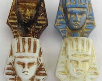 Vintage Egyptian Pharaoh Beads E235