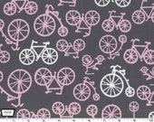 Bicycles - Blossom Pink from Michael Miller