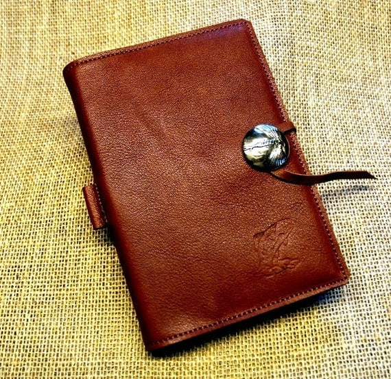 Leather bound fly fishing journal for Fly fishing journal