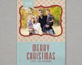 Christmas Card - Rustic
