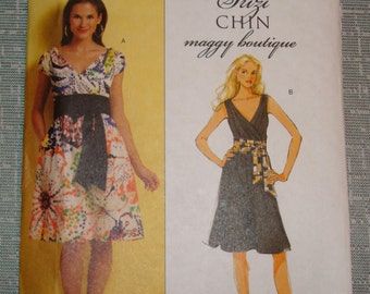 OOP Butterick Womens Sewing Pattern B5319  size 8-10-12-14Uncut
