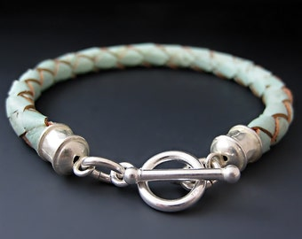 Vegan (Leather) Cork Braided Wrap Bracelet - 6 Colors