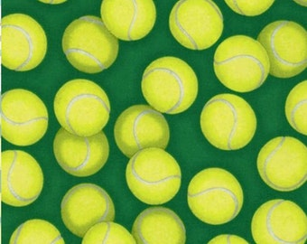 Tennis cotton fabric  from the Sports life3 by  Robert Kaufman