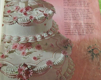 Wilton Cake Decorating Catalog Vintage 1970 Full Color How To Guide