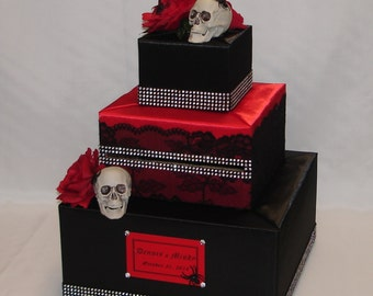 Halloween Gothic theme Card Box