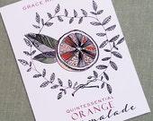 Orange,Orangecello,Orange Jam Sticker, Personalized, Tag or Label,homemade food gifts, set of 18
