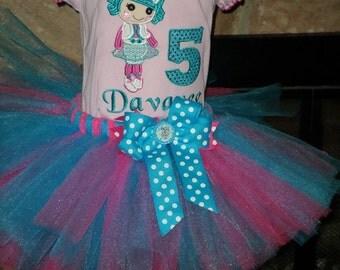 CustomLala doll  Birthday tutu