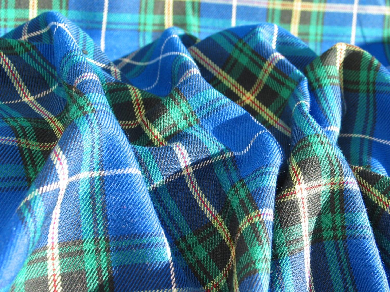 blue nova scotia tartan fabric blue plaid fabric nova. Black Bedroom Furniture Sets. Home Design Ideas