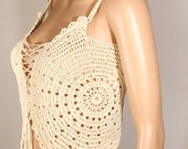 Crochet Halter Top PDF, Halter Top Pattern, Crochet Shirts Tutorial