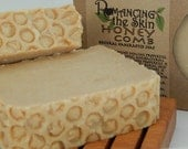 Natural Honey Comb Handcrafted Creamy Sweet Orange & Cloves Lye Soap