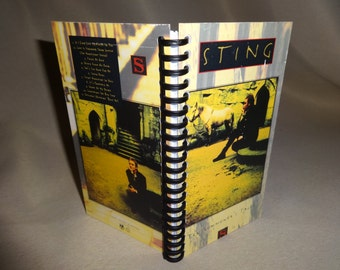 Sting Ten Summoner's Tales VHS Tape Box Notebook