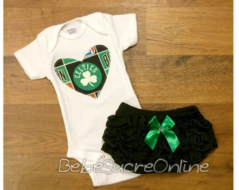 Boston Celtics Girls Outfit