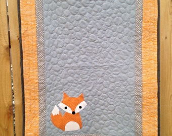 Made to Order Fox Baby Quilt
