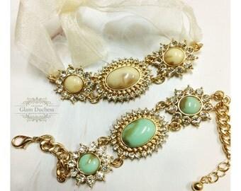 Bridal bracelet, Wedding jewelry,bridal jewelry, bridesmaid bracelet, rhinestone bracelet, crystal bracelet