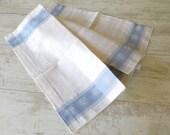 Vintage Kitchen Towel Dishtowel Dishcloth Linen Kitchen Towel Floral Cotton Towel Pink White Blue Home Decor Soviet Kitchen Towels