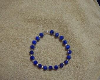 Blue Multi Stretch Bracelet