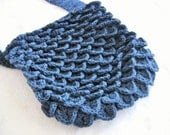 SALE 15% OFF Handmade Crochet Dragon Skin Bag