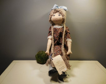 Vintage Hand Made Stuffed Doll