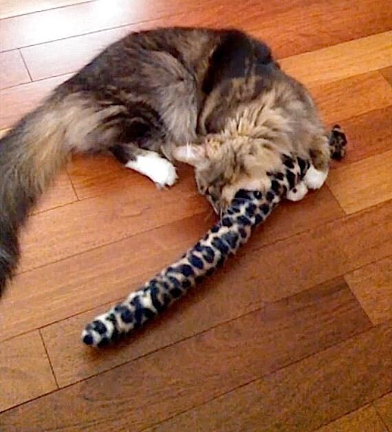 Catnip Toy - Two Snakey Mice  Organic Catnip Toys