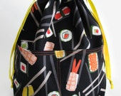Build Your Own Medium Reversible Drawstring Project Bag