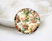 10mm 12mm 14mm 16mm 18mm 20mm 25mm 30mm Handmade  Photo Glass Cabochons Cover-Flower (P1099)