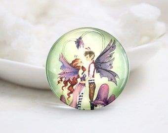 10mm 12mm 14mm 16mm 18mm 20mm 25mm 30mm Handmade Round Photo glass Cabochons-Cute (P2827)