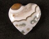 Ocean Jasper Heart  ETOJ331