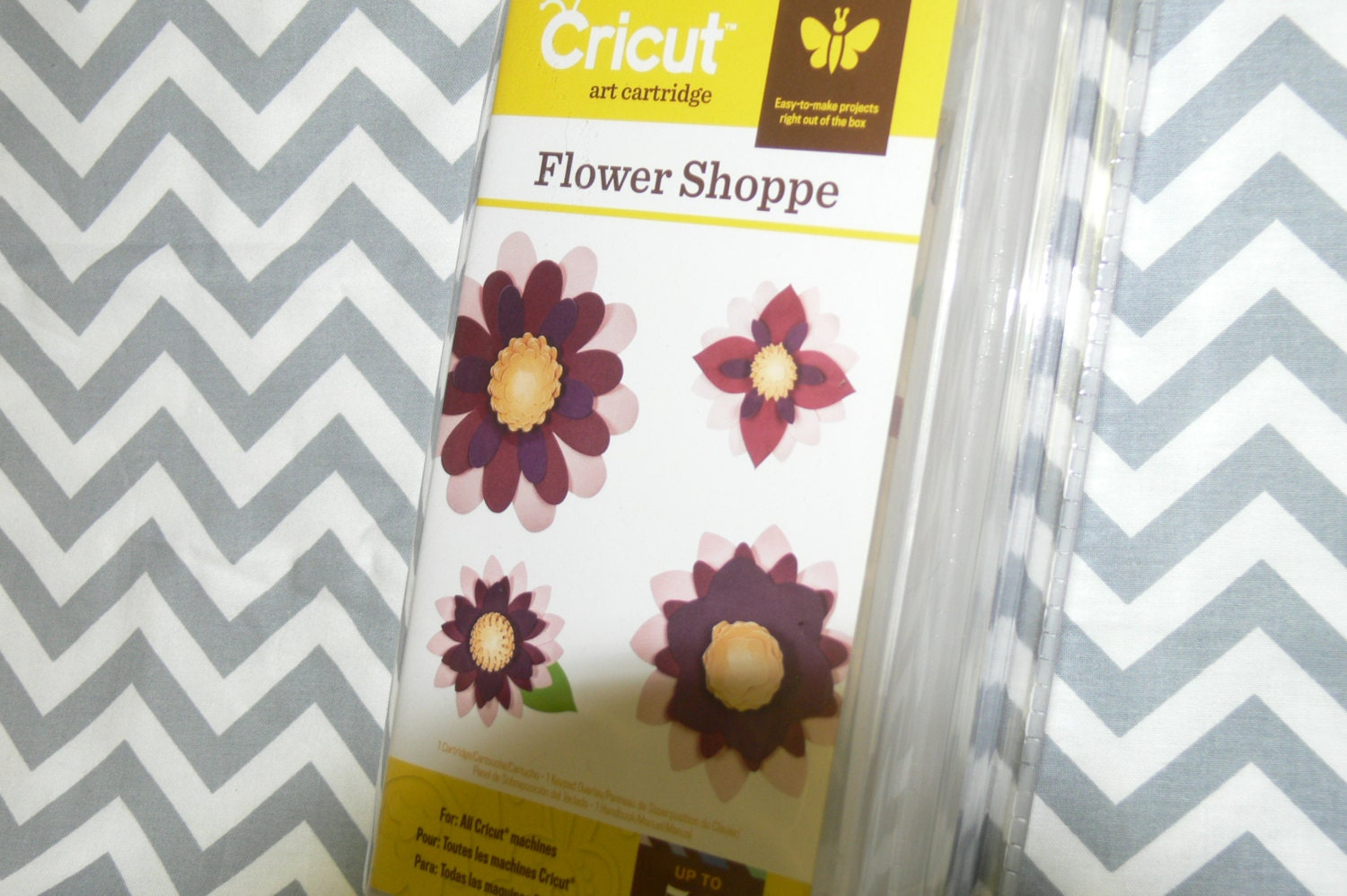 New In Package Cricut Cartridge Flower Shoppe Reduced From
