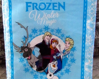 Frozen Soft Cloth Book Winter magic Elsa, Anna, Olaf and Kristoff