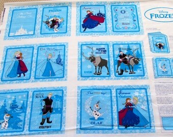 Frozen Disney Winter Magic Soft Cloth Boook Panel IN STOCK