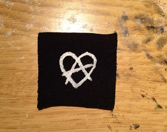 folk punk anarchy sew on patch