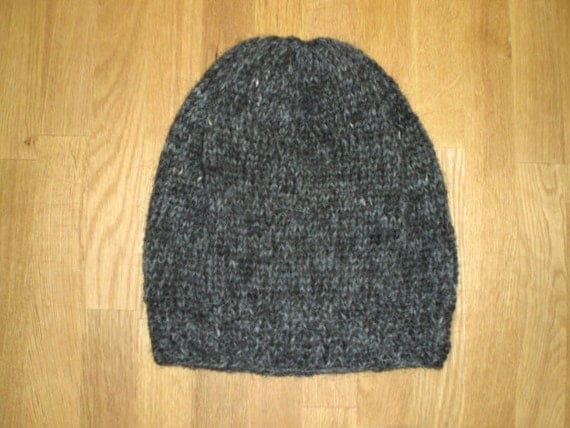 Icelandic slouchy hat/cap hand knitted with by Binnadesign on Etsy