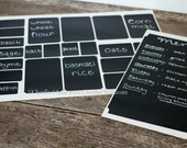 Buy 2 Get 1 FREE 24 Ticket Chalkboard Labels Starter Kit Chalk Stickers Get Organized with our Chalk Label Value Pack