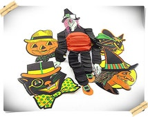 Beistle Halloween Decorations 7pcs.