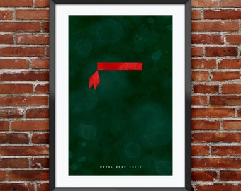 """Metal Gear Solid inspired print 11X17"""""""