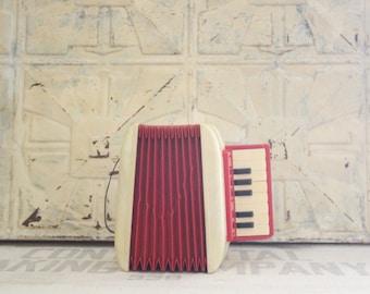 Vintage Magnus Harmonica Corp Talent Finder Toy Accordion