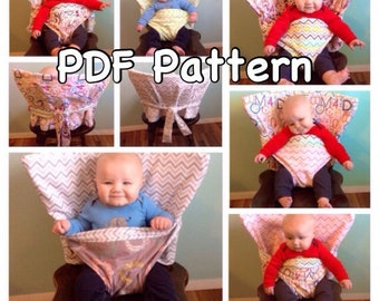 PDF Pattern & Tutorial for the Reversible Portable Anywhere Highchair