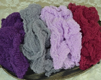 Set of Four Cheesecloth Photography Props...Newborn Props...Maternity Photo Props...Newborn Wraps...Wraps...Baby... Cheesecloth Wraps