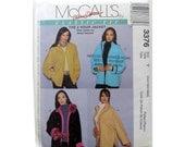 Jacket Pattern Quick Pattern McCall's 3376 Cuffs Oversized