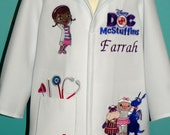 Doctor lab coats for children. Dress up, Haloween, Partys. Custom made for each child.