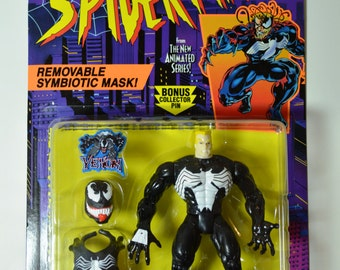 Venom Ii Removable Mask Spiderman Animated Series Action
