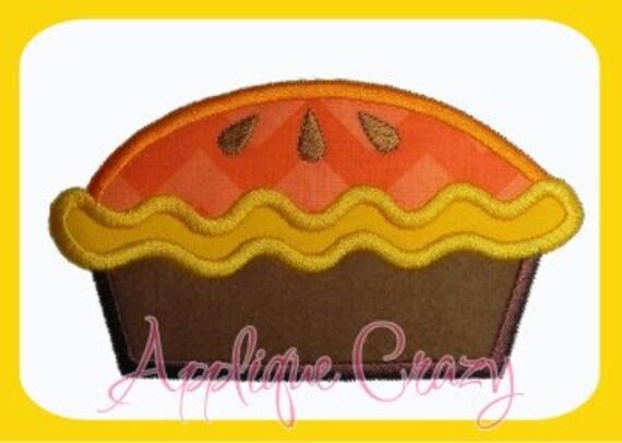 Pie applique design