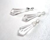 Crystal Prism Suncatcher Car Rear View Mirror Ornament Charm Rainbow Maker -key chain