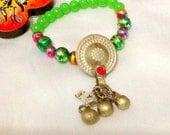 SALE------SULTANA BRACELET -kuchi bracelet -Bellly Dance bracelet -gypsy bracelet -middle eastern jewelry -gypsy jewelry