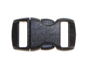 "3/8"" Nylon Side Release Buckles - Five, Ten, Twenty, or Fifty"