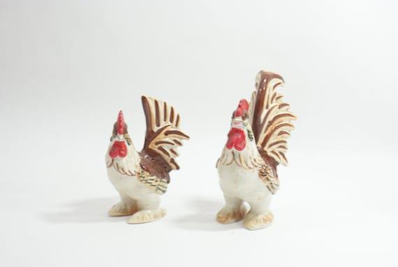 Vintage napcoware chicken rooster figurine