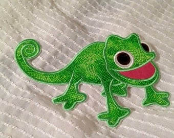 PASCAL TANGLED Inspired Iron on Applique Patch
